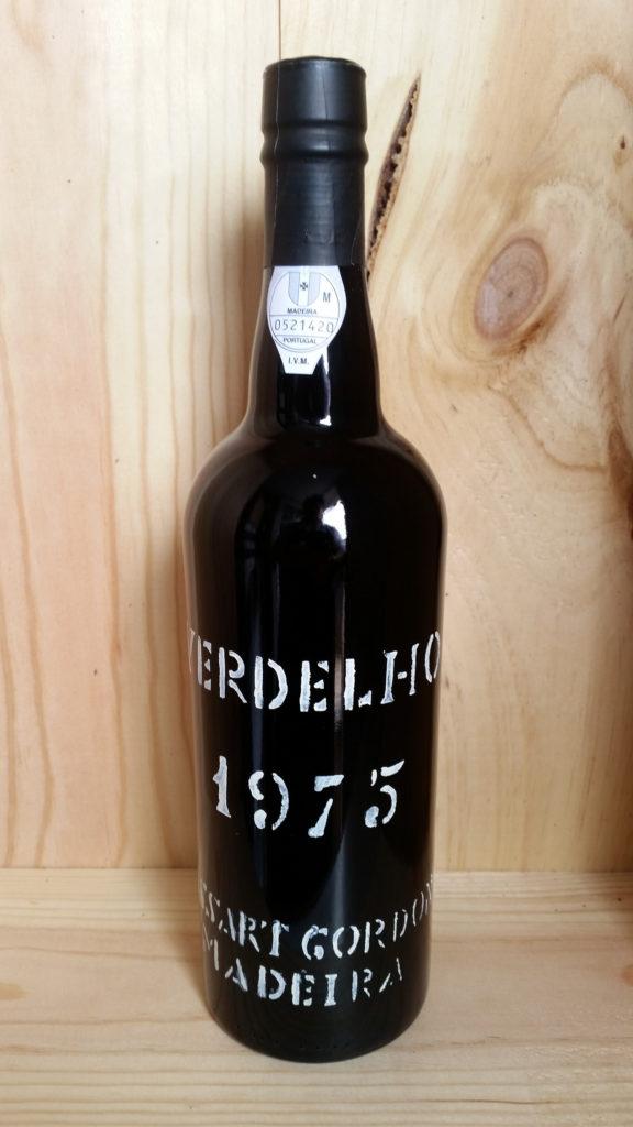 Cossart Gordon Verdelho 1975 Vintage Madeira