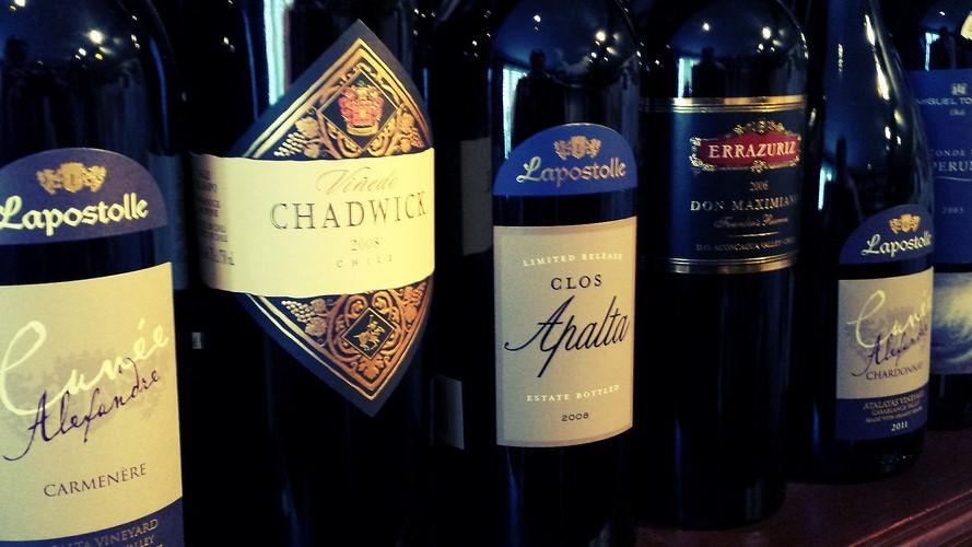 Chilean Wines At Fareham Wine Cellar