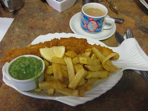 Wine With Fish and Chips