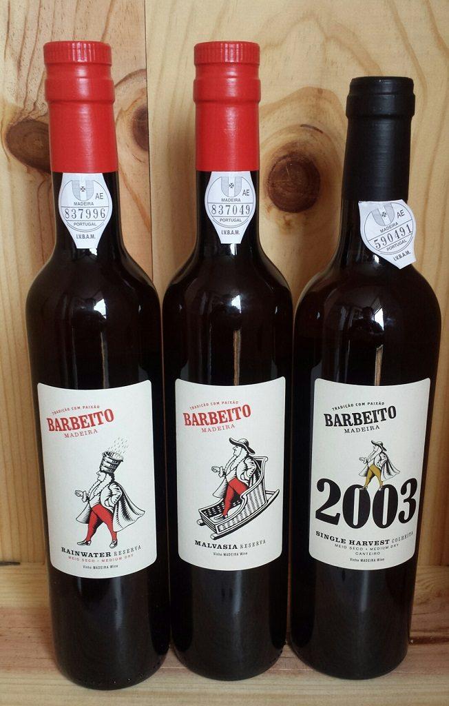 Barbeito Madeira Bottles