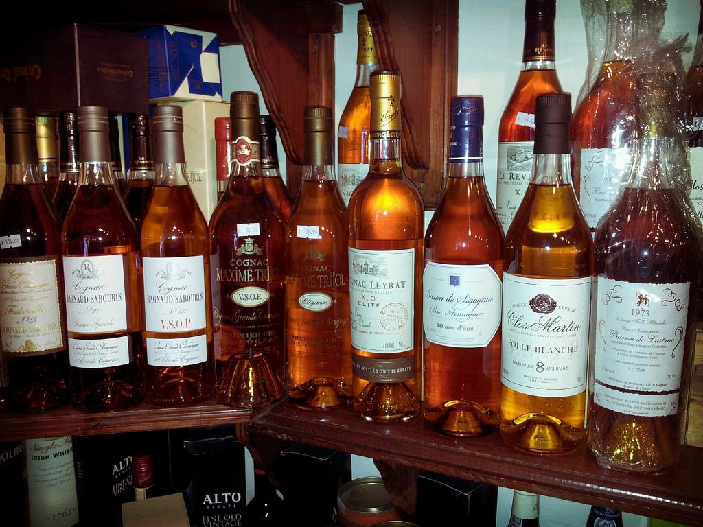 Armagnac and Cognac