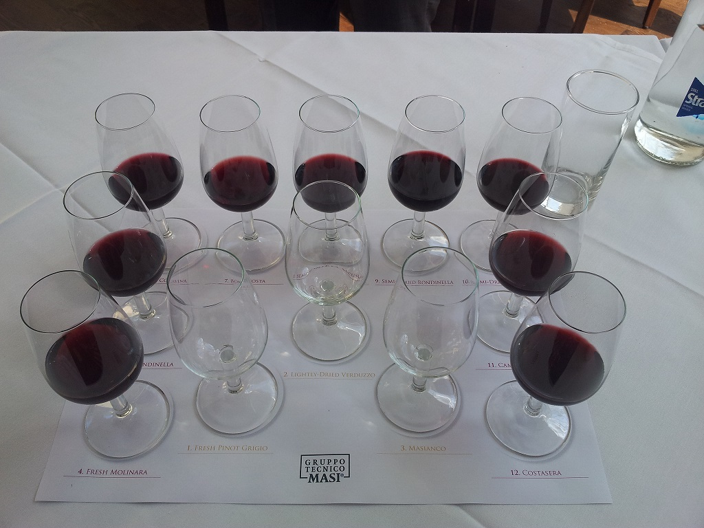 Masi Wines Tasting Sheet