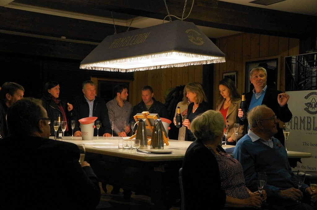 Hambledon Vineyard Seminar and Wine Tasting Evening