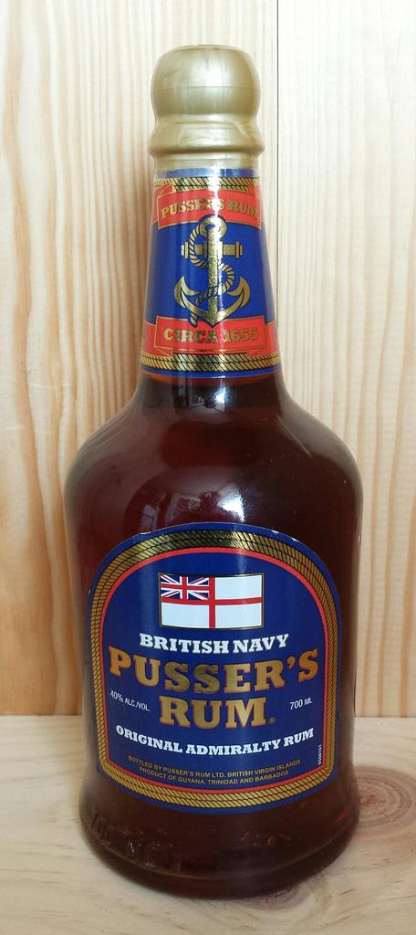 Pussers Rum Blue Label 40%