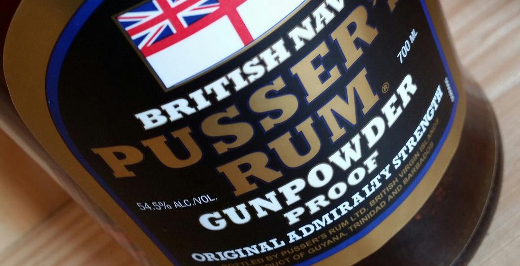 Pussers Rum Gunpowder Proof 54.5%