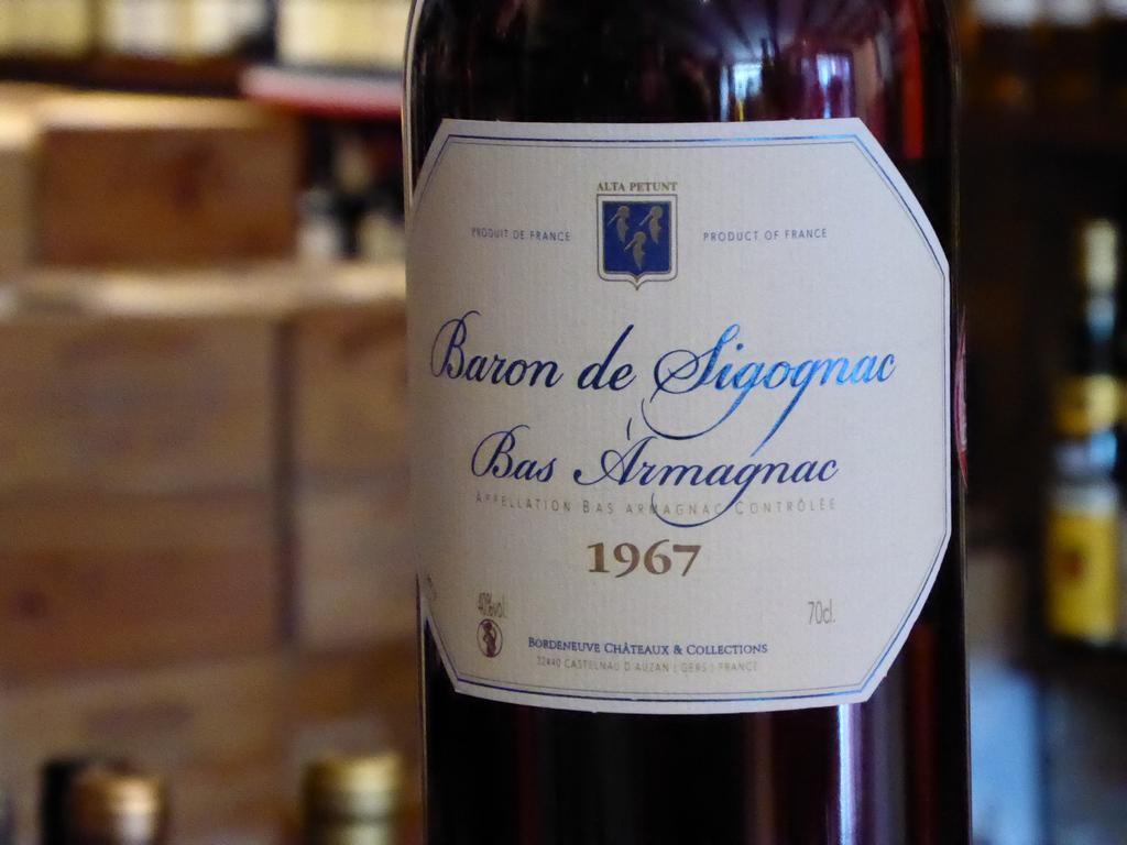Vintage Armagnac Genuine