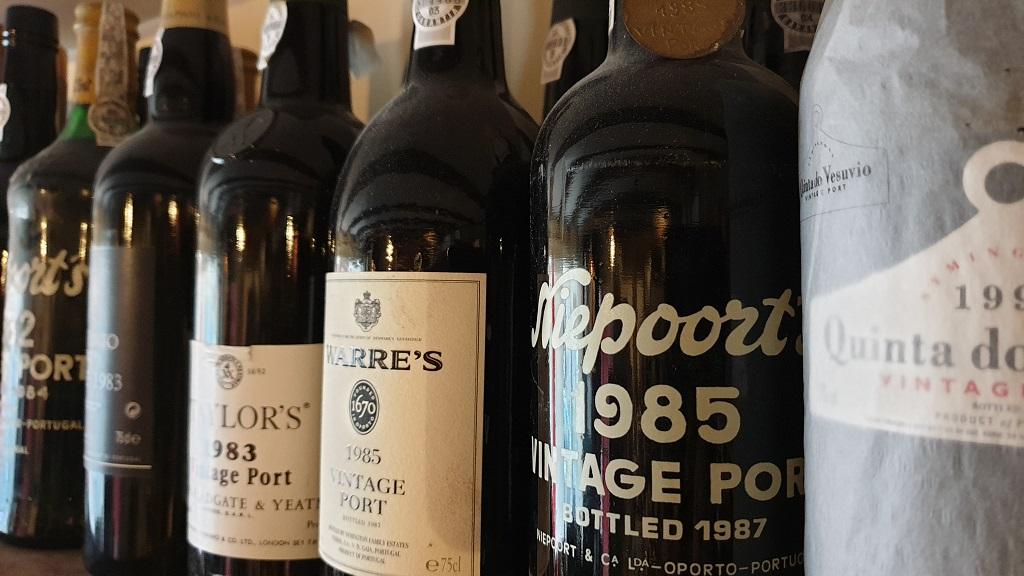 Vintage Port at Fareham Wine Cellar