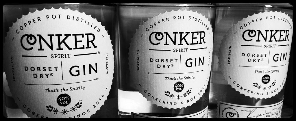 Conker Gin Bottles