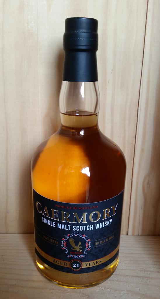 Caermory 21 Year Old Mull Single Malt Scotch Whisky