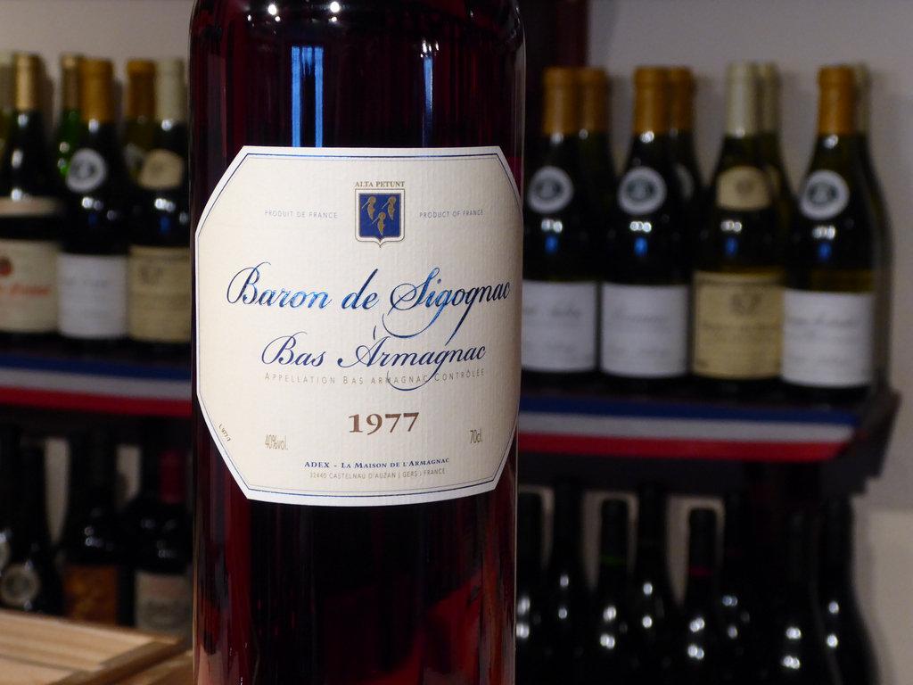 Baron de Sigognac 1977 Vintage Armagnac