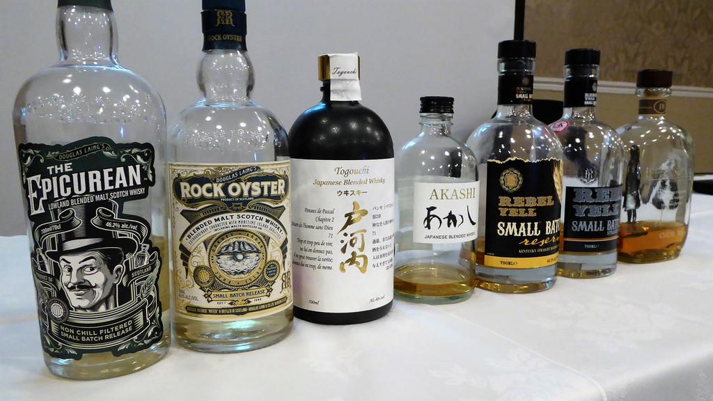 World Whisky Tasting