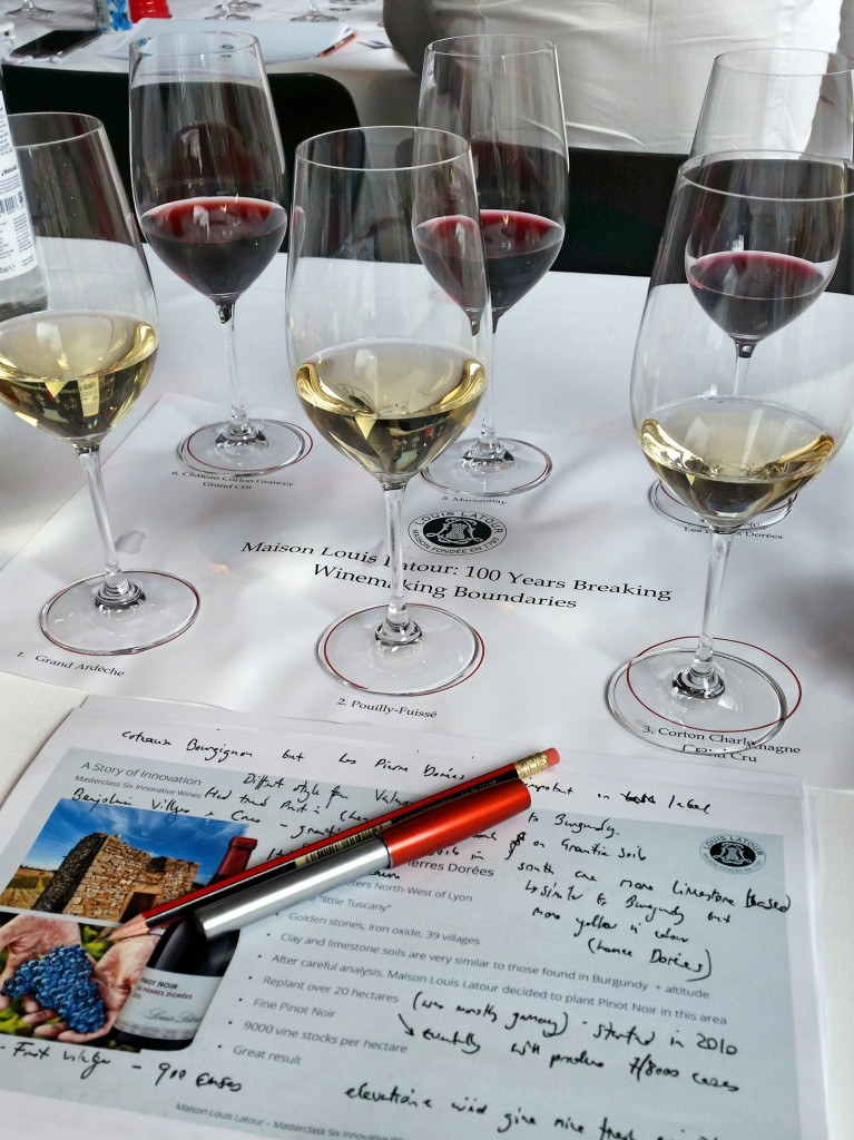 Louis Latour Wine Tasting