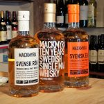 Mackmyra Whisky Tasting 1st November 2017