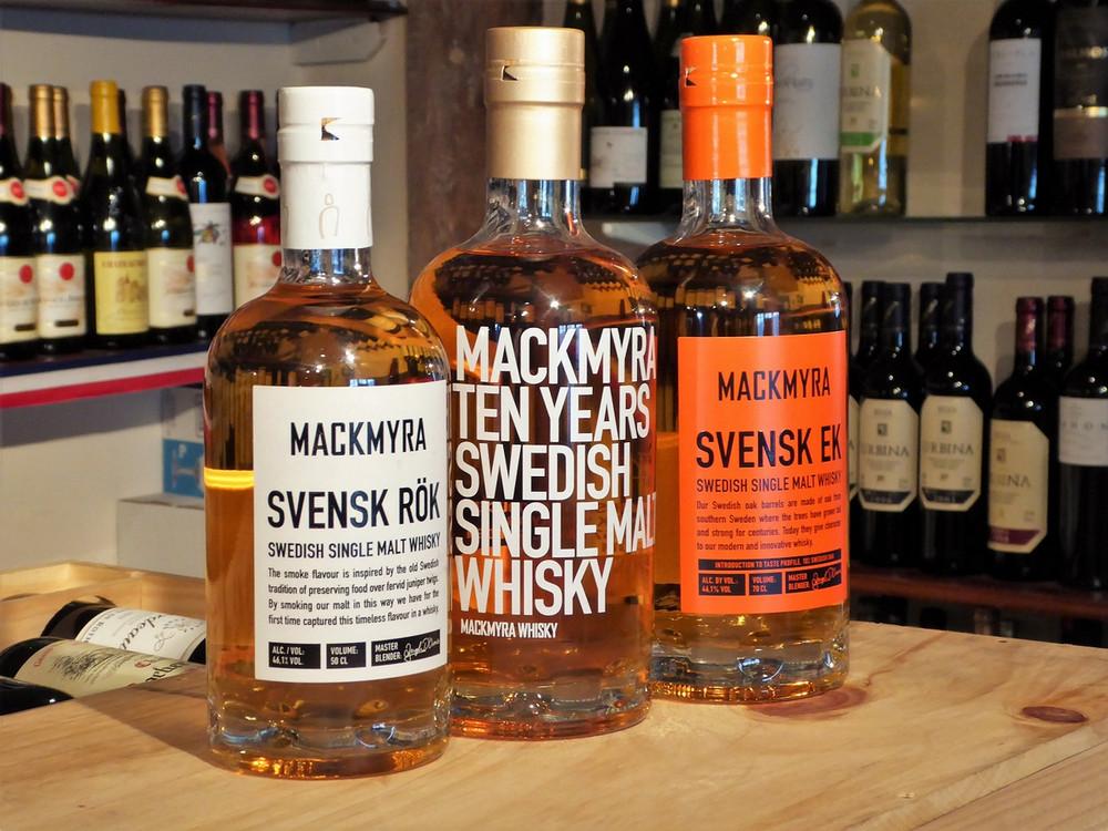 Mackmyra Whisky Tasting