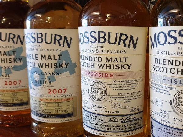 Mossburn Whiskies
