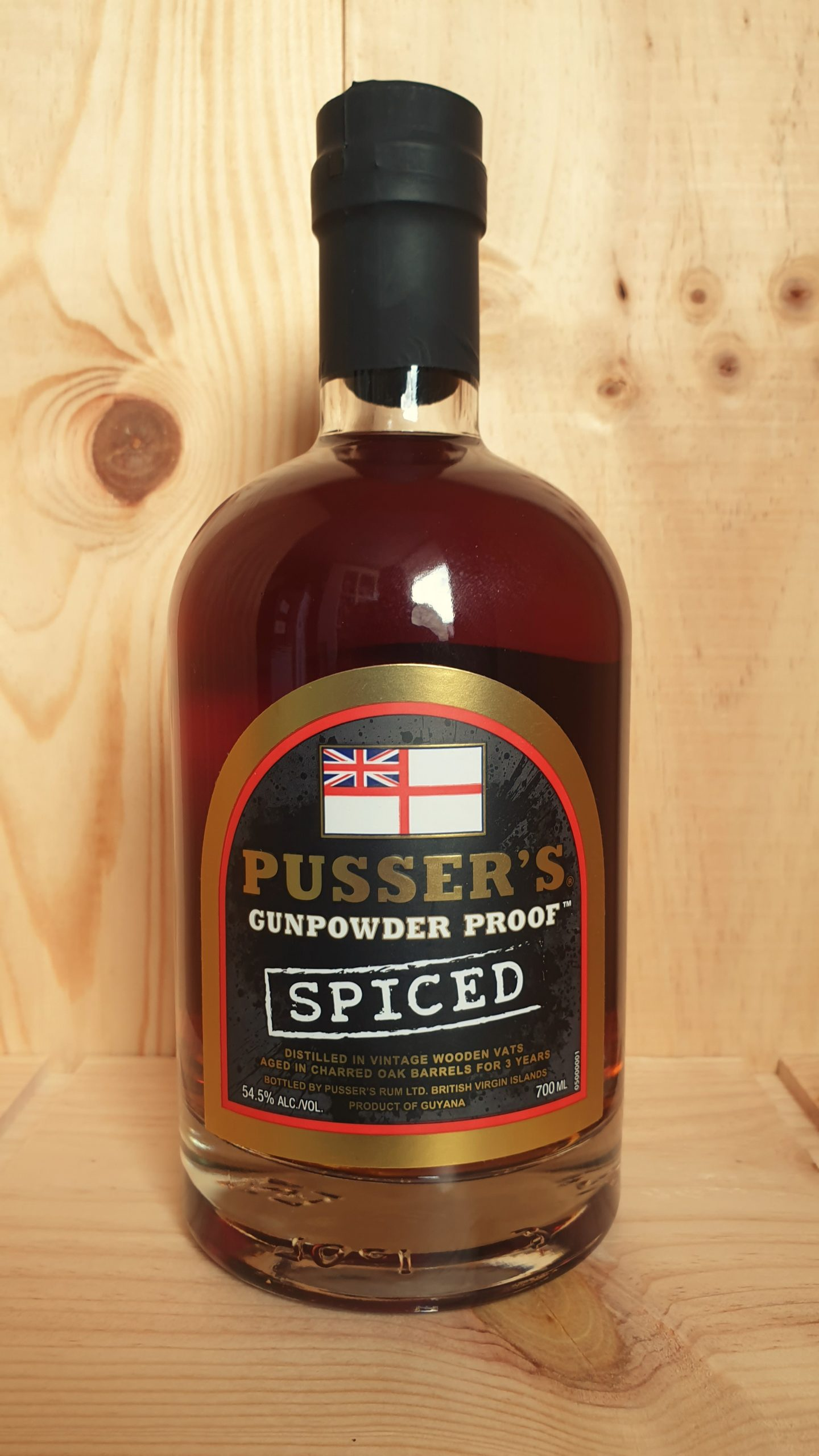 Pussers Gunpowder Proof Spiced 54.5%