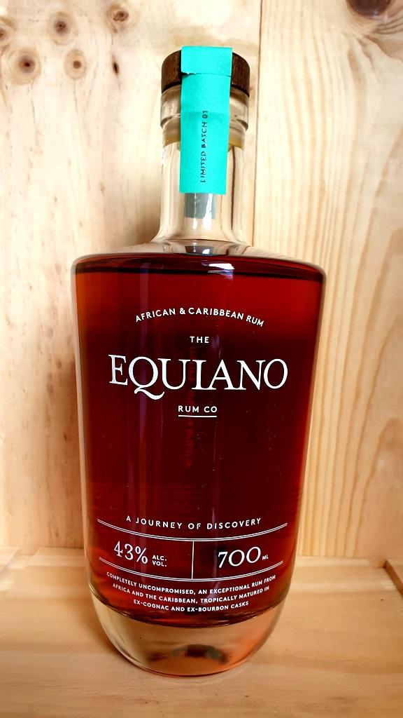 Equiano Rum, African & Caribbean Rum 43%