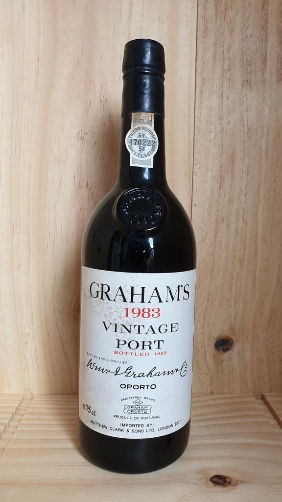 Grahams 1983 Vintage Port