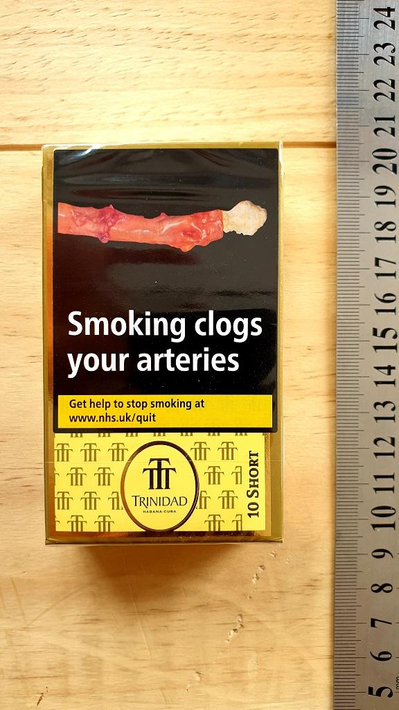 Trinidad Shorts Cigars – Pack of 10