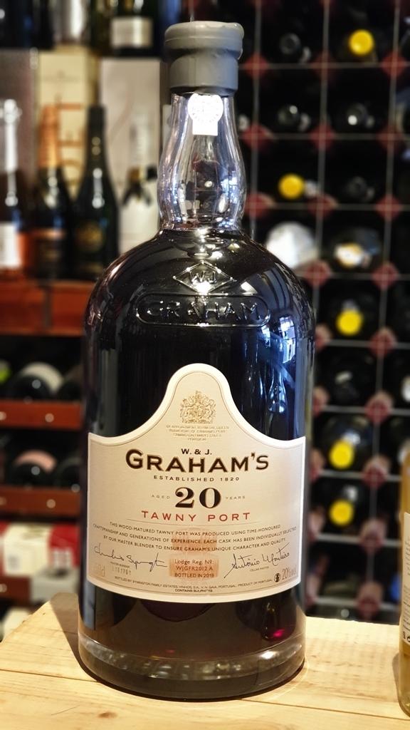 Grahams 20 Year Old Tawny Port 4.5 Litre Bottle
