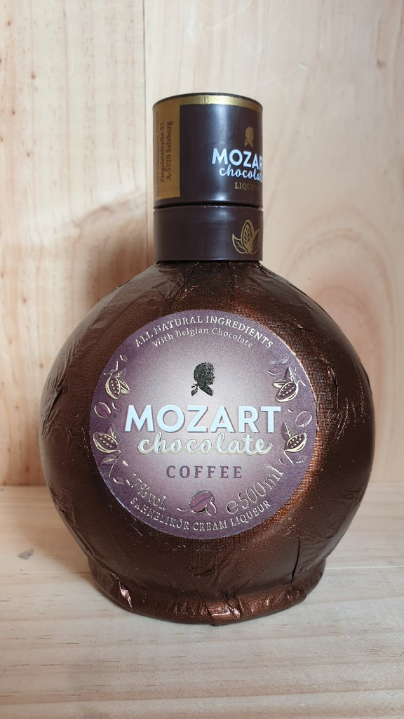 Mozart Chocolate Coffee Cream Liqueur 17% 50cl